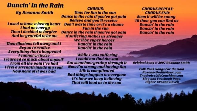 Lyric Photo--Dancin' In the Rain2