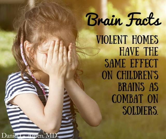 Emotional Violence Effect's on Child's Brains